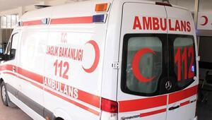 Silahlı yaralı ambulansta kurşun yağdırdı