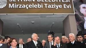 Mirzaçelebi Taziye Evi ve muhtarlığı açıldı