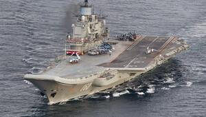 Son dakika... Rus uçağı, Amiral Kuznetsova inerken Akdenize çakıldı