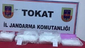 Tokatta 2.5 kilo kristal metamfetamin ele geçirildi