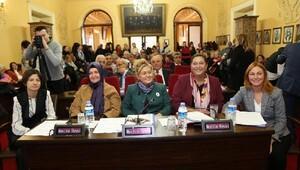 Edirne Belediye Meclisi'nde kadınlar konuştu