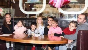Serebral Palsili Çocuklar, Kadın Basketbolcular İle Moral Buldu