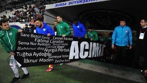 Bursaspor-Çaykur Rizespor maç fotoğrafları