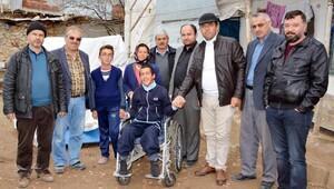 Engelli Umuta tekerlekli sandalye