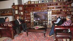 Belediye başkanı Ünver, TOKİ yöneticileri ile yatırımları görüştü
