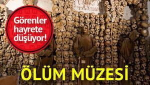 Dünyanın en ünlü ölüm müzesi Kapuçin Manastırı