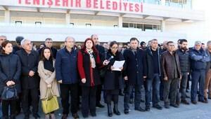 Diyarbakırda DBPli 2 belediye başkanı gözaltına alındı (4)