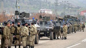 Licede geniş çaplı operasyon: Araçla kaçmaya çalışan terörist öldürüldü