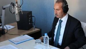 CÜ Rektörü Yıldız, CU Radyoya konuk oldu