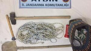 Aydında kaçak kazı operasyonu: 15 kişi gözaltında