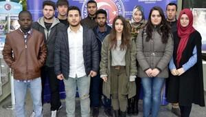 ÇOMÜdeki yabancı öğrenci sayısında artış