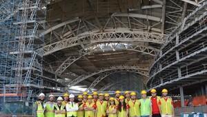 Geleceğin İnşaat Mühendislerinden Dubai'ye teknik gezi