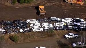 120 BMW tren kazasında hurdaya döndü