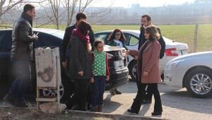 Selahattin Demirtaşı cezaevinde ailesi ziyaret etti