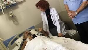 Hastane bahçesinde doktoru bıçakladı