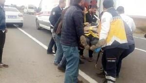 Şanlıurfada kaza: 1 ölü