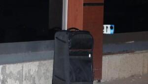 AÖF bürosu önünde şüpheli çanta alarmı