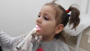 Yenimahalle anaokullarında diş taraması