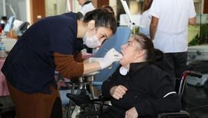 Gaziemirli engellilere ağız ve diş sağlığı hizmeti