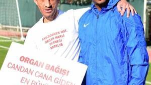 Antalyasporlu futbolcular organ bağışına dikkati çekti