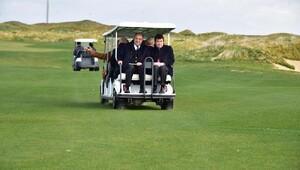 TFF Yönetimi golf sahasını gezdi