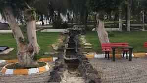 Başkan Dingil, yenilenen parkı inceledi