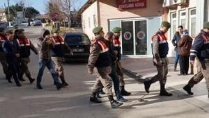 Jandarmadan göçmen kaçakçılarına operasyon: 3 tutuklama