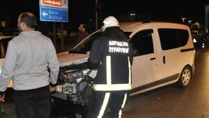 Manavgatta kaza: 1 yaralı