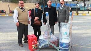 Bornova Belediyesi'nden eğitime temizlik desteği