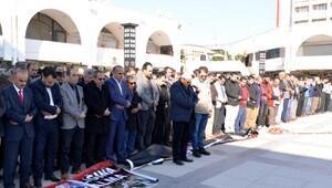 Mersin'de Halep için gıyabi cenaze namazı