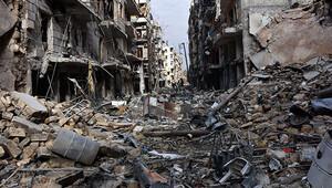Halepte bombalama durmadı