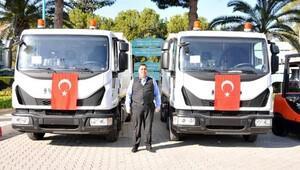 Tarsus Belediyesi araç filosuna güçlendirdi