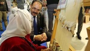 Uşakın değerleri İzmir Turizm Fuarında