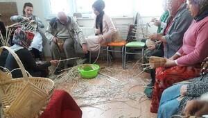 Rize'de sepet örücülüğü kursu