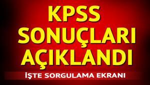 KPSS sınav sonuçları ÖSYMde KPSS tercihleri ne zaman