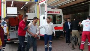 Fırat Kalkanında yaralanan 10 ÖSO askeri Kilise getirildi