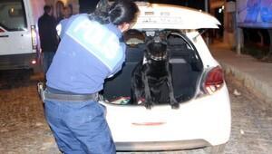 Edirne'de polisten asayiş uygulaması