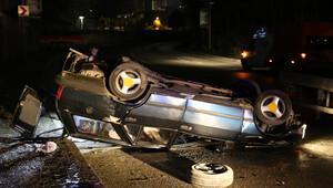 Kağıthanede trafik kazası: 1i ağır 3 yaralı