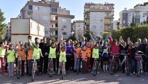 Muratpaşadan bisiklet kampanyası