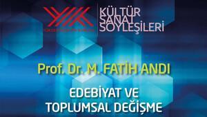 YÖK Kültür-Sanat Söyleşileri Erzincan Üniversitesi'nde