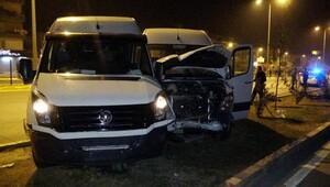 Antalyada kaza: 5 yaralı