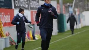 Trabzonspor, Kupada Atiker Konyaspor maçı hazırlıklarına başladı