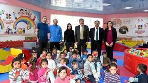 Başkan Çakır: 300 Suriyeli çocuğumuzu eğitim merkezimizde misafir ettik