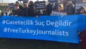 Gazeteci örgütlerine Silivri'de basın açıklaması izni verilmedi