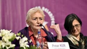 Kadın sempozyumunda Türk solu gerginliği