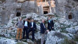 AB elçileri, Mersinin doğal ve tarihi mekanlarını gezdi