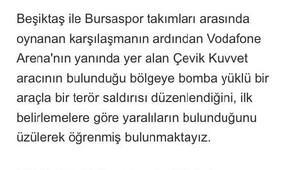 Atiker Konyaspor Kulübü: Hain terör saldırısını lanetliyoruz