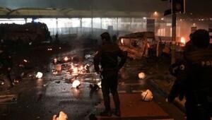 Kulüpler ve UEFA terörü lanetledi