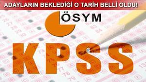 KPSS tercih kılavuzu yayımlandı mı KPSS ortaöğretim tercihi ne zaman