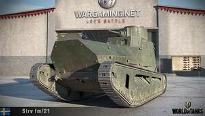 World of Tankste İsveç tankları rüzgarı